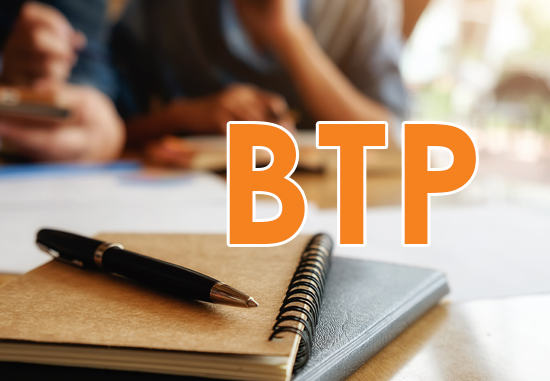 BTP – PROFESSIONAL TECHNICIAN CERTIFICATE