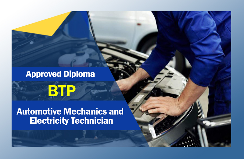 BTP – Automotive Mechanics and Electricity Technician